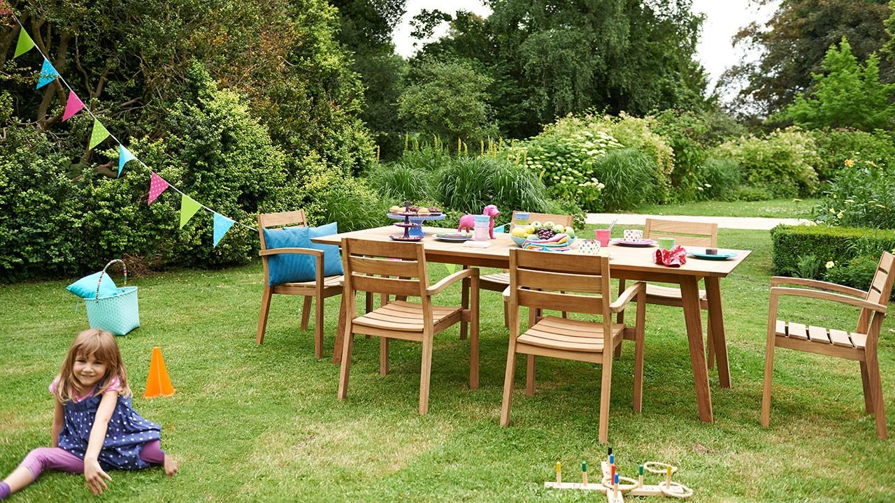 Acamp Mogen Sie Holz Der Gartentisch Teak Aurora Von Acamp Ist