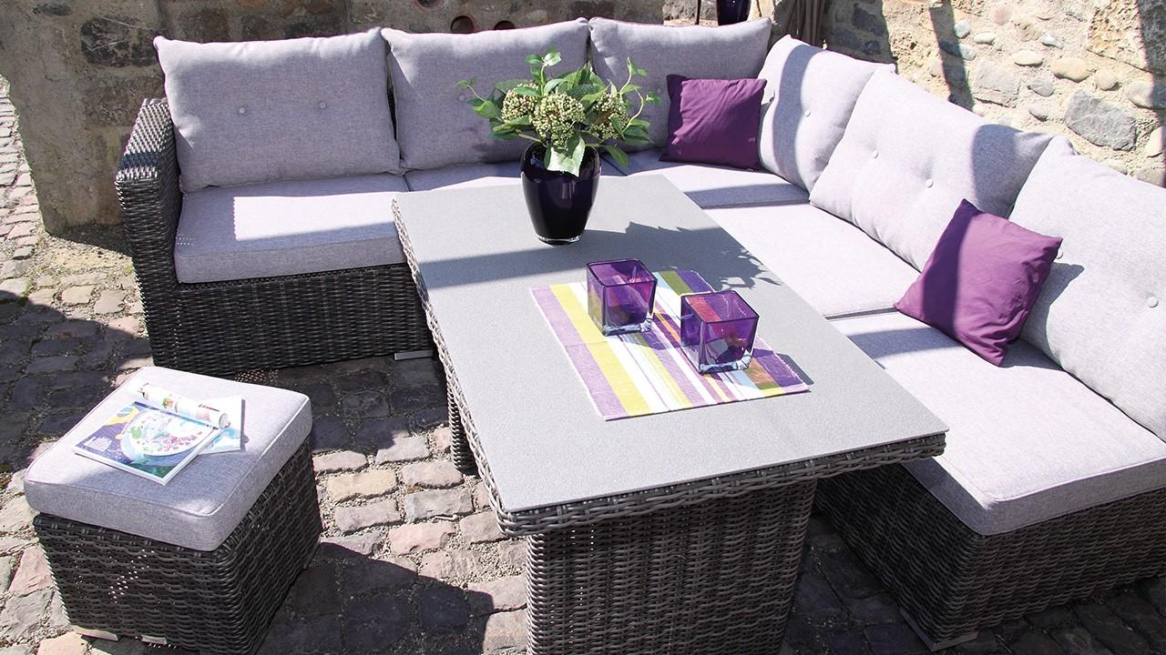 sicilia Lounge Set 8tlg.