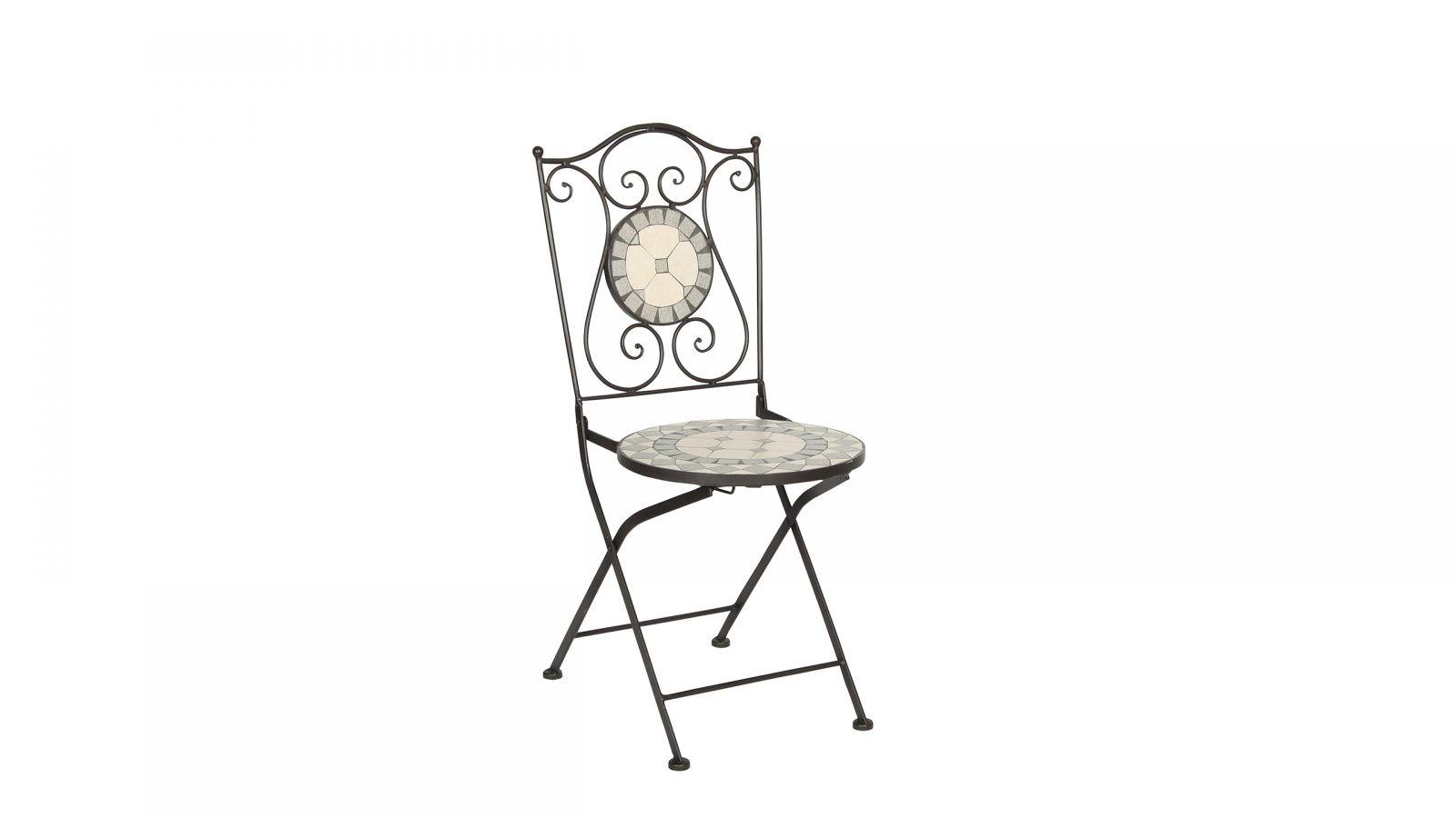 Acamp Klappstuhl mit Rückenlehne aus Mosaik – bringt romanisches ...