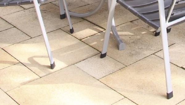 Acamp Ersatzteile 4er Set Fußkappen für Boulevardtisch