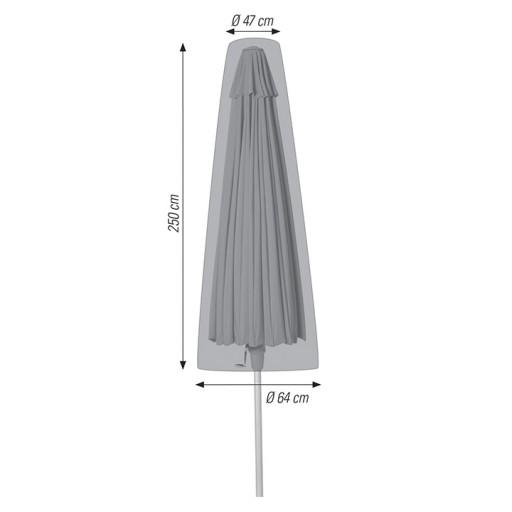 Ø 47 / 64 x 250 cm
