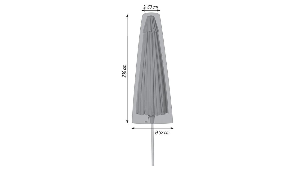 Ø 30 / 32 x 200 cm