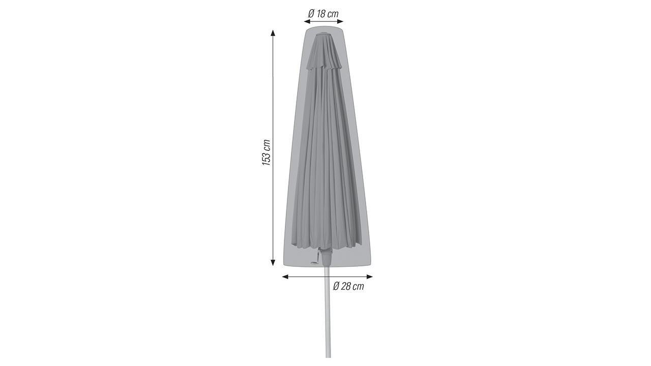 Ø 18 / 28 x 153 cm