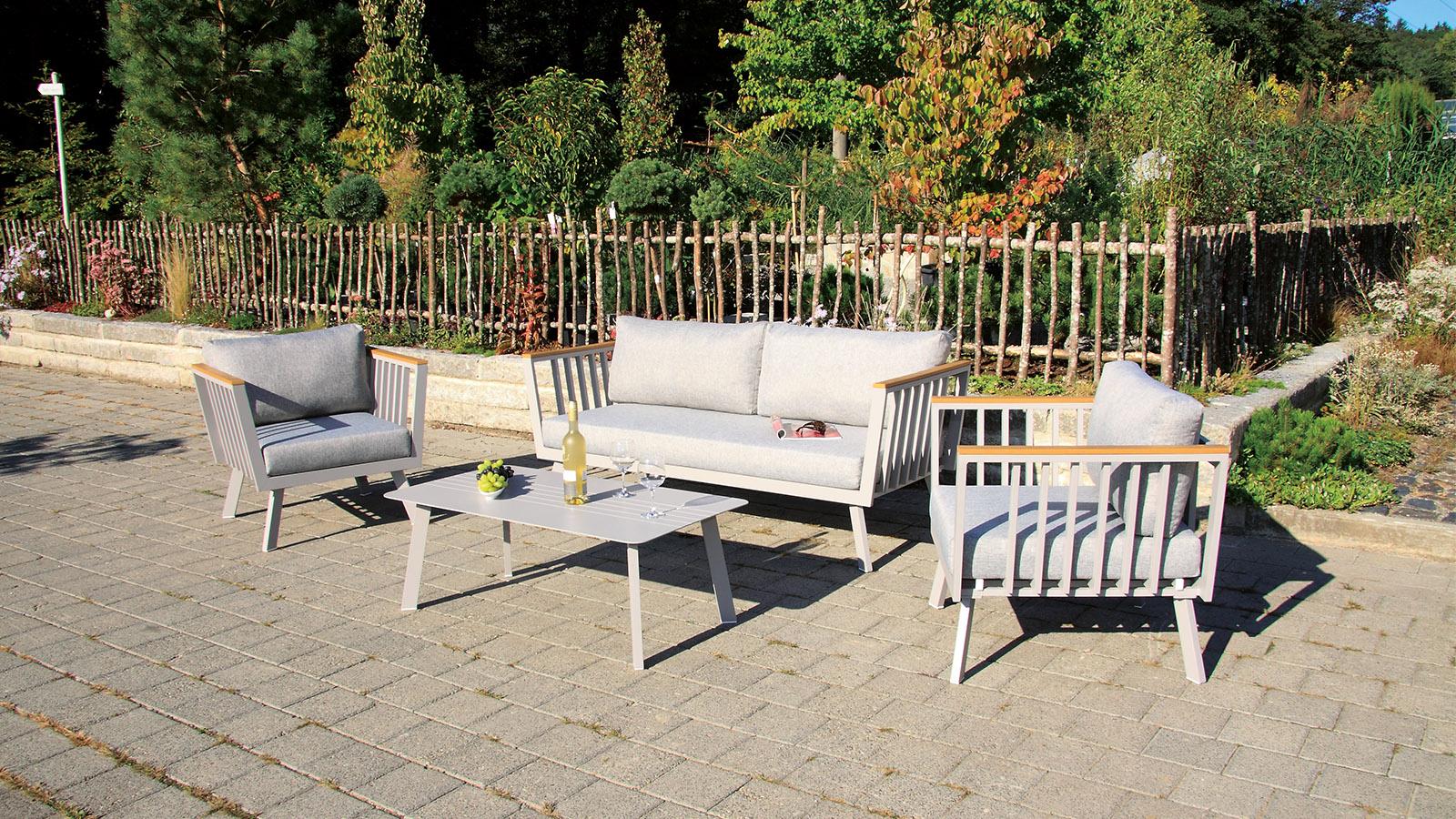gondola Lounge Set 4-teilig