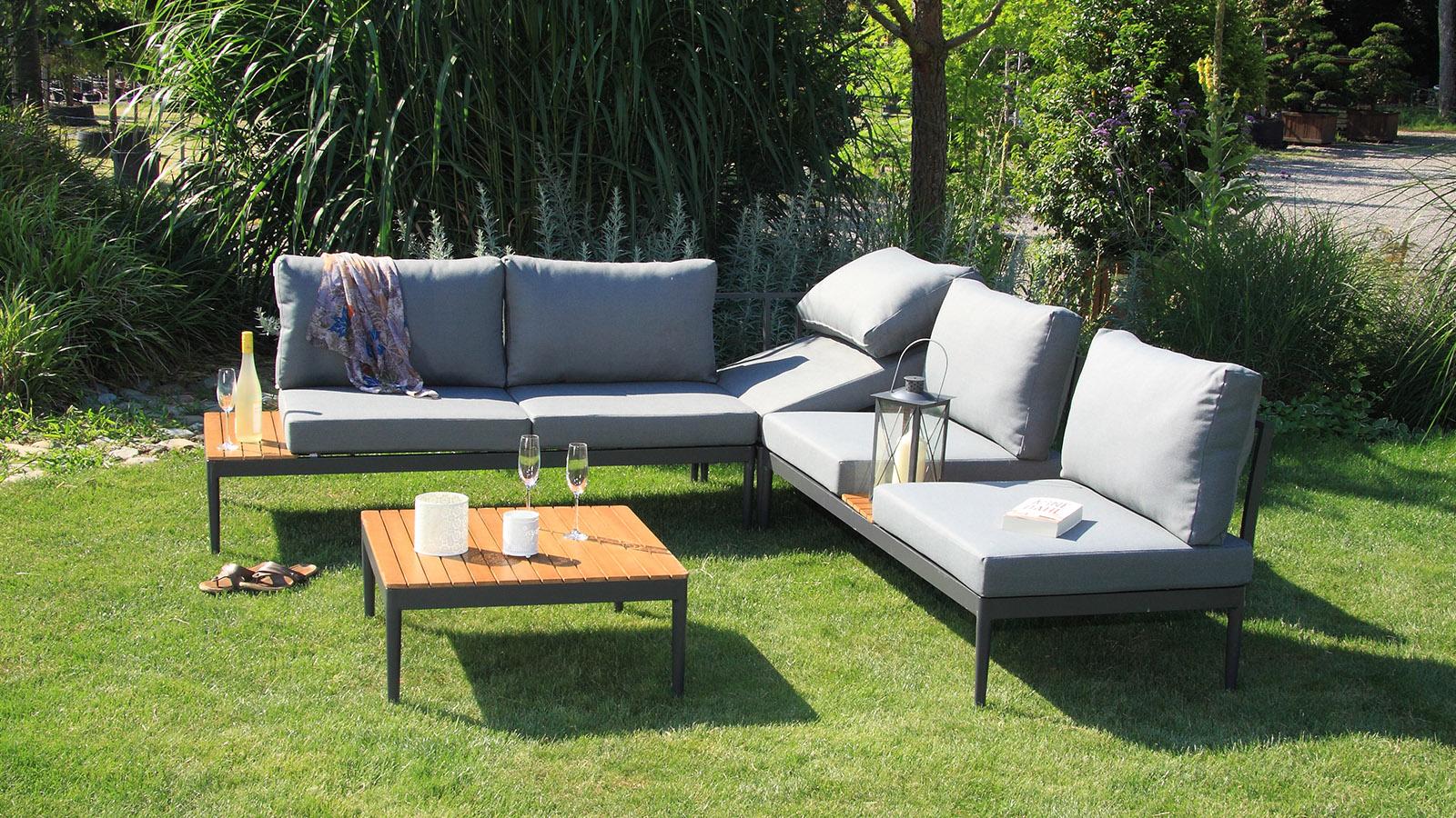 paros Lounge Set 4-teilig