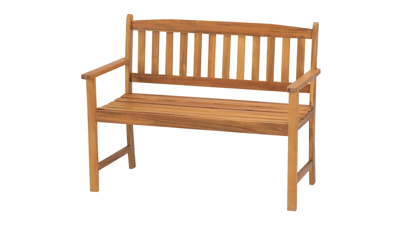 woody Bank 2-Sitzer